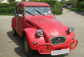 """Vikram"" the 2CV"
